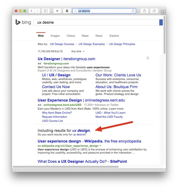 How Search Engines Implement Auto-Correct – The UI Observatory
